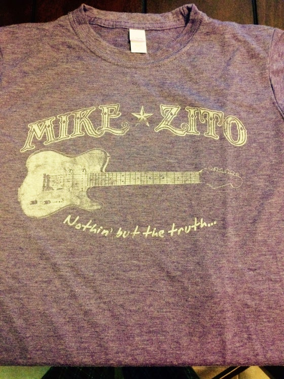 Image of Mike Zito-Nothin but the truth...LADIES T-SHIRT