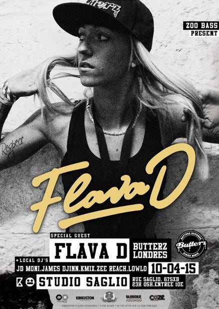 Image of Ticket : ZOOBASS presente FLAVA D. + Guests