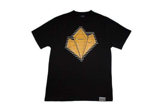 Image of Prism Tee (Gold/Wht)