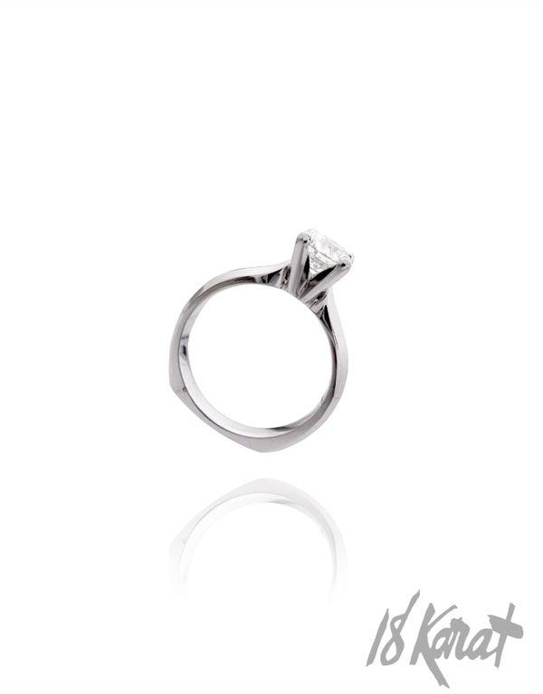 Megan's Engagement Ring - II - 18Karat Studio+Gallery