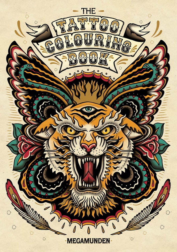 Image of The Tattoo Colouring Book