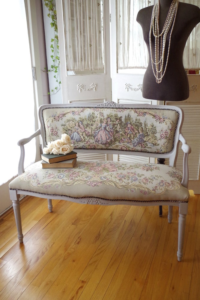Image of Antique Settee