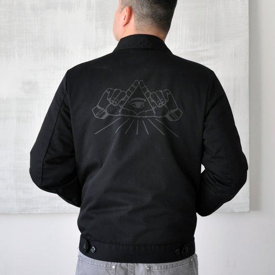 Image of All Seeing Eye Dickies Jacket