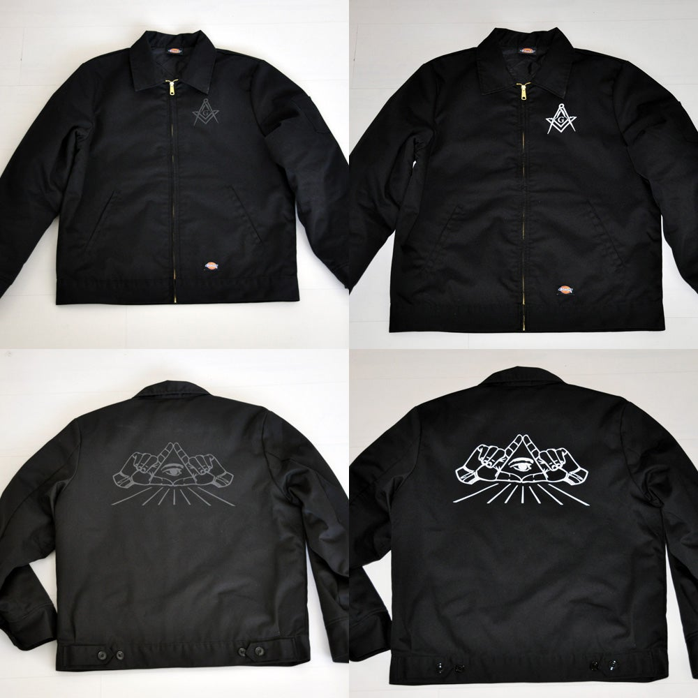 Image of All Seeing Eye Dickies Jacket