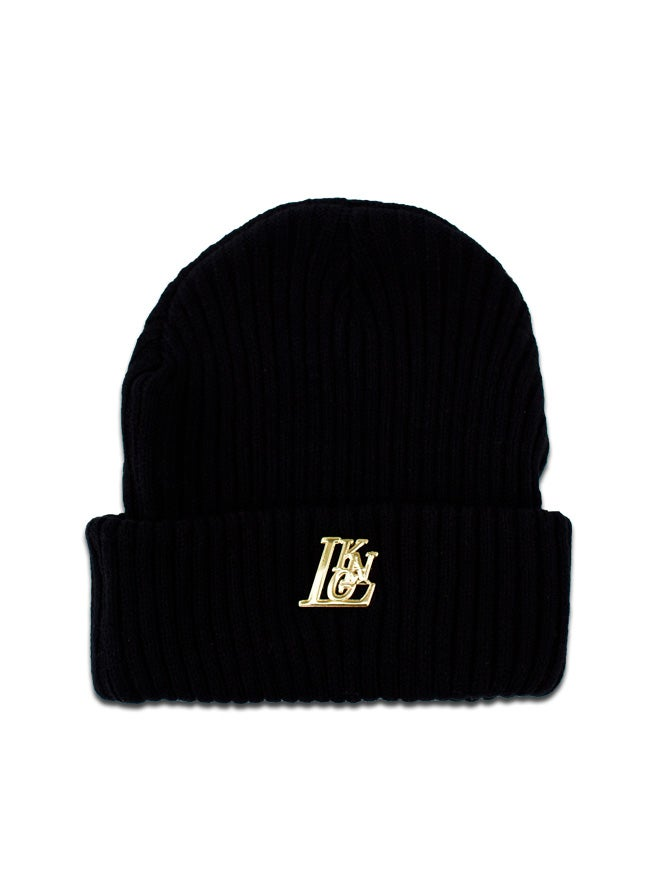 Image of LKNG Essentials Black Beanie