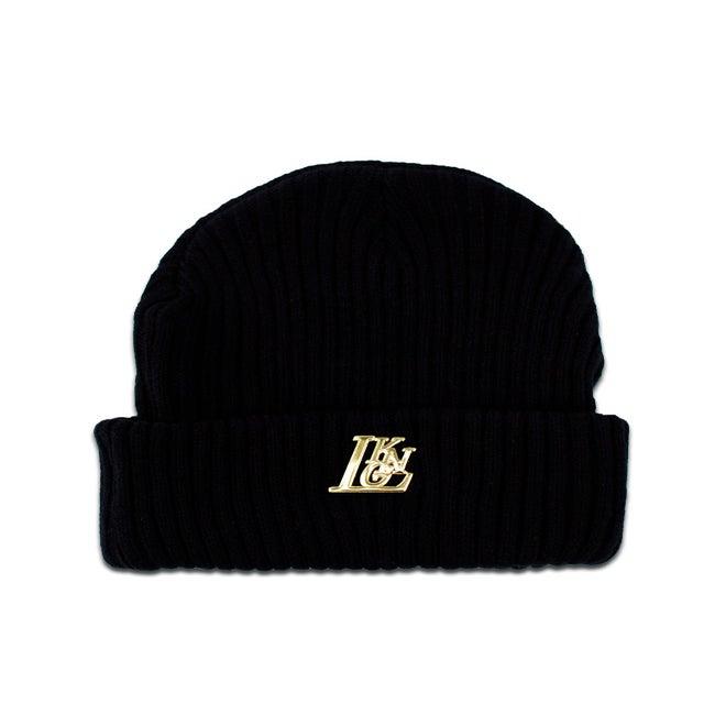 Image of LKNG Essentials Black Beanie