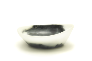 Image of Black and White Plunge Bowl