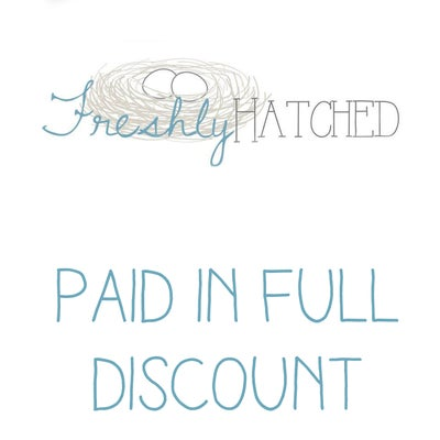 Image of Freshly Hatched Workshop Paid in Full