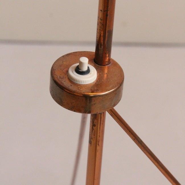 Image of Copper floor lamp Josef Hurka, 1958
