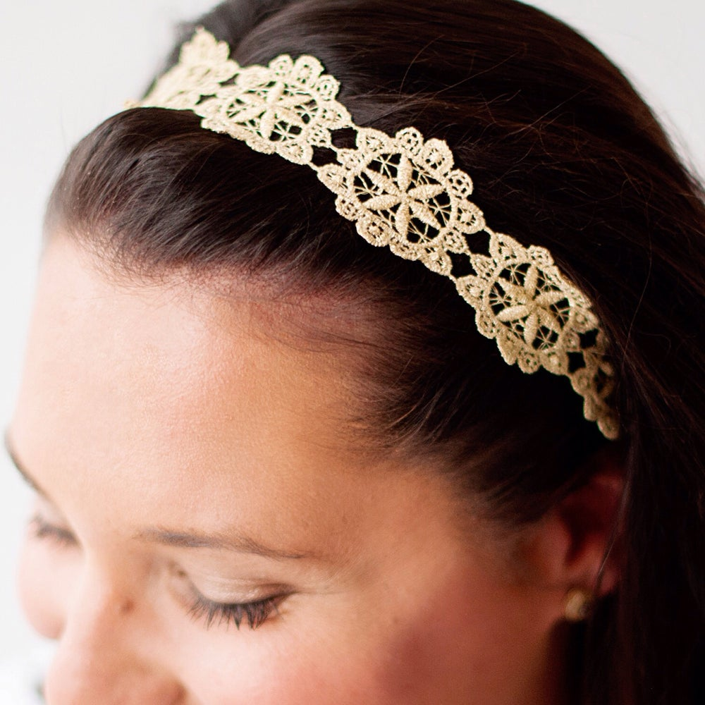 Image of The Sloan Lace Headband - Adult