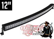 Image of Robby Gordon Signature Curved Double Row Light Bar 12""