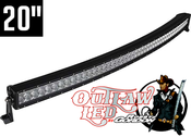 Image of Robby Gordon Signature Curved Double Row Light Bar 20""