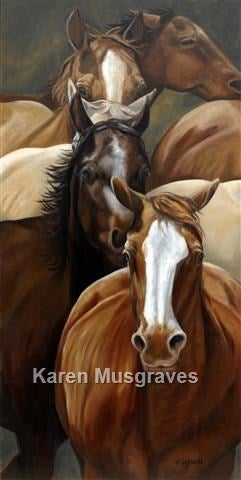 """Image of """"Last Stretch"""" Canvas Gicleé"""