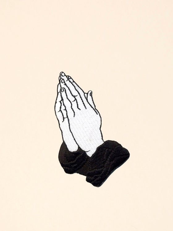 Image of PRAY FOR MY ENEMIES PATCH - 6 GOD