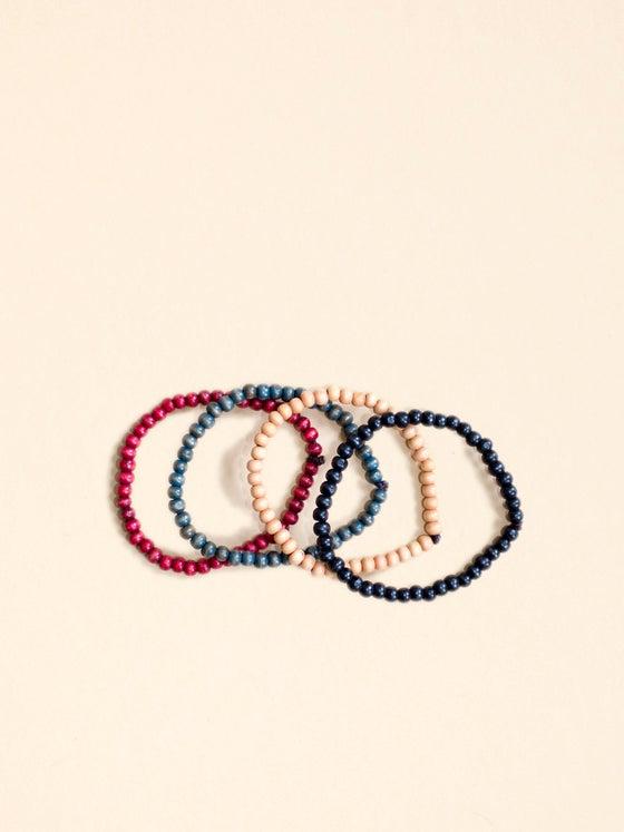 Image of Slim Bracelets :: 4-pack