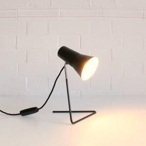 Image of Black mid-century light