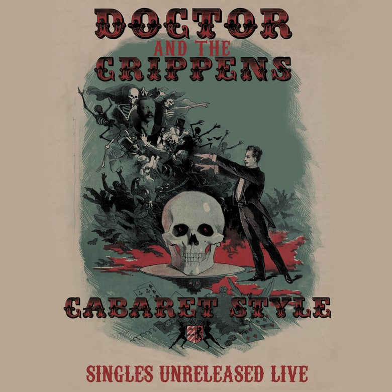 Image of Doctor And The Crippens - Cabaret Style : Singles Unreleased Live Ltd Double Coloured Vinyl LP