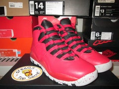 """Air Jordan X (10) Retro """"Bulls over Broadway"""" GS - areaGS - KIDS SIZE ONLY"""