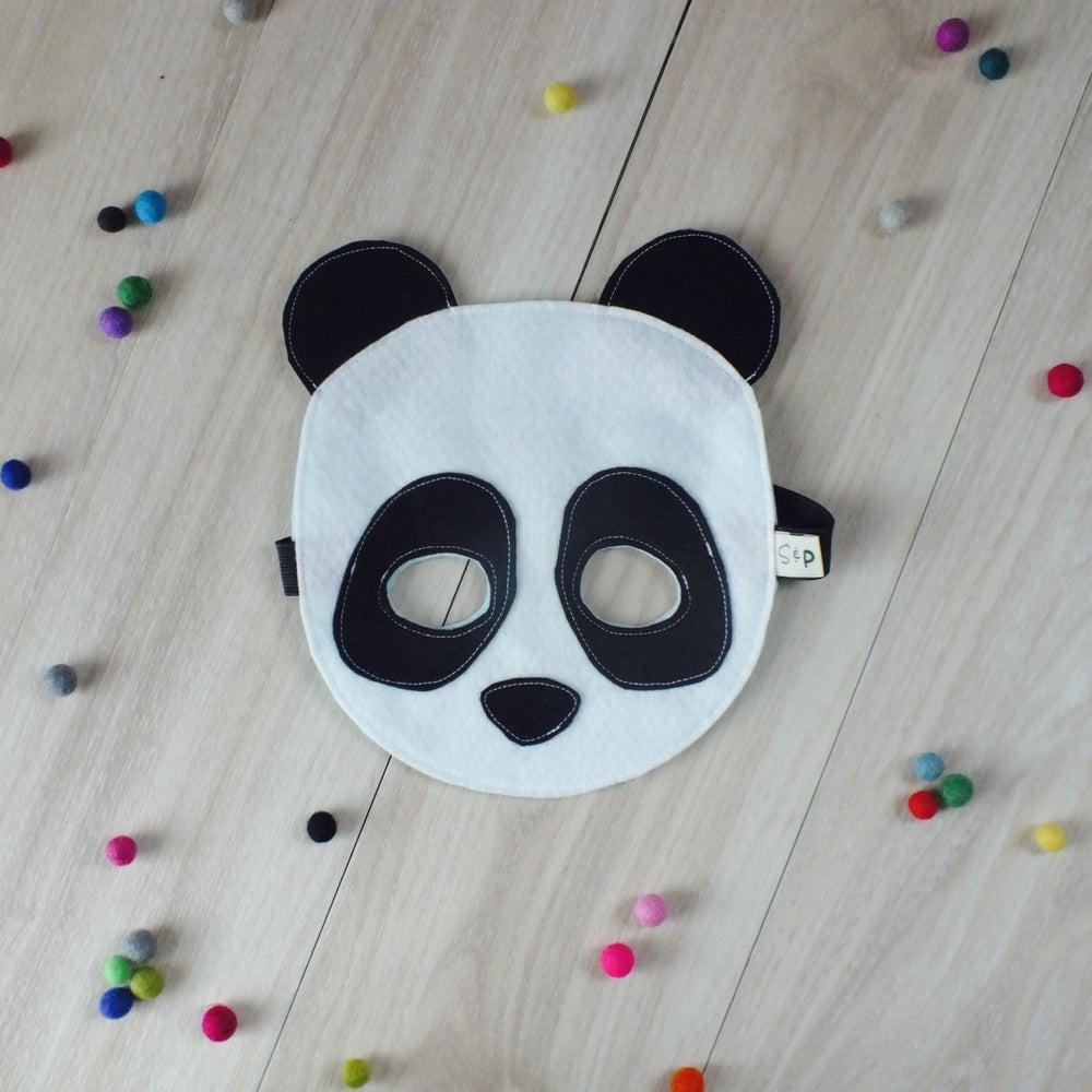 Image of Felt Panda Mask