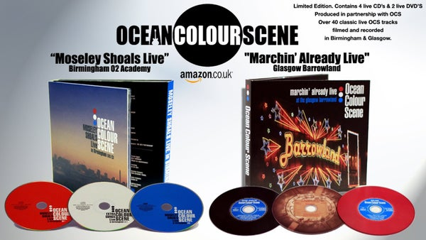 Image of Ocean Colour Scene Live Bundle Offer