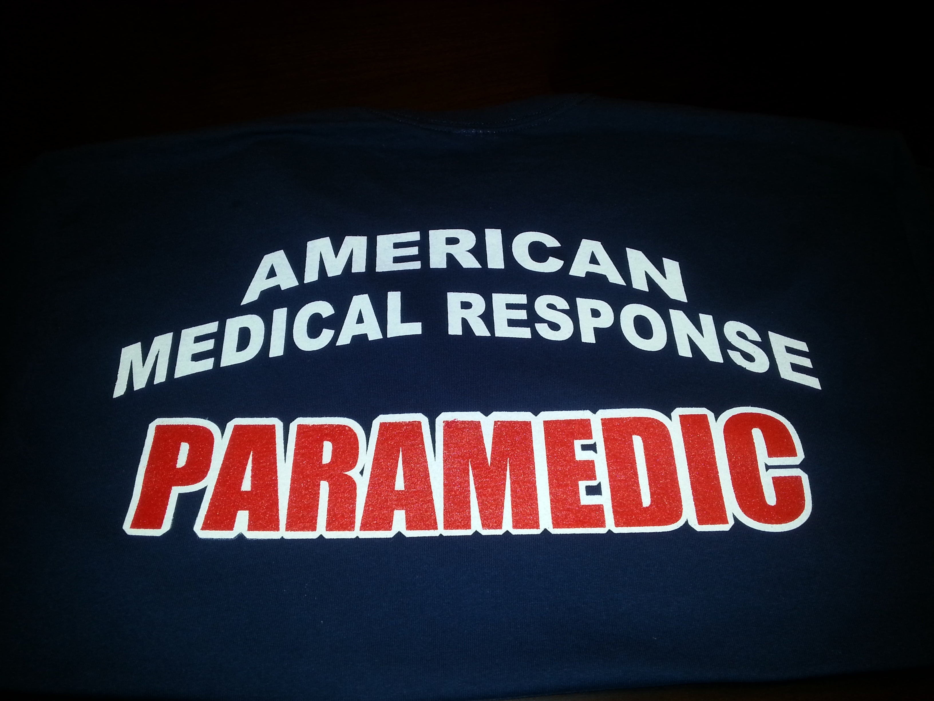 6514 Dezigns — American Medical Response Paramedic T-shirts