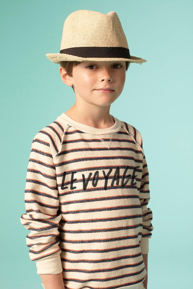 Image of SS15 <> Sweat-shirt garçon Soft Gallery « Silas Maritime » <> 2A-10A