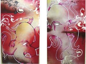 "Image of 2 Piece Print Set ""Feelers"""