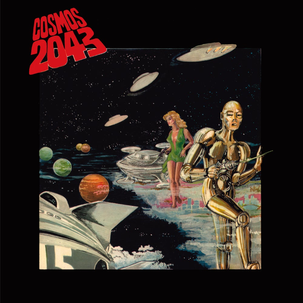 Image of BERNARD FEVRE 'COSMOS 2043' (from 1977) (CD/VINYL)
