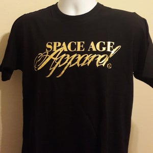 Image of Space Age Gold Foil Print tee (Men)