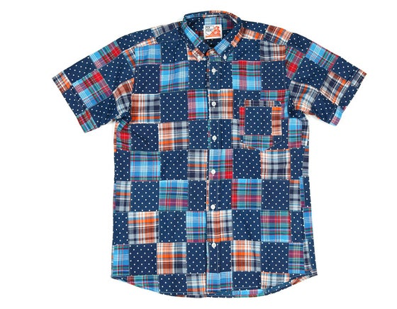 Image of Chemise Patchwork Dots