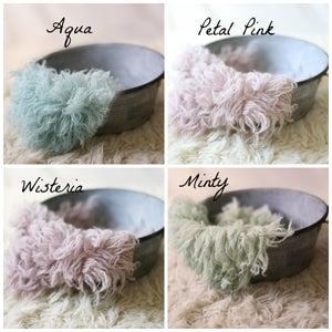 Image of Flokati Stuffers Custom SIzes and Colors