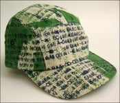 "Image of MJL Kelly ""Green Abstract Gibberish"" Camp Cap"