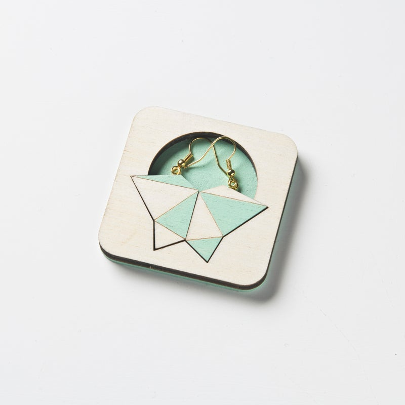 Image of Facets earrings 001