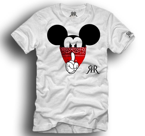 """Image of """"Quiet Like a Mouse"""" tee"""