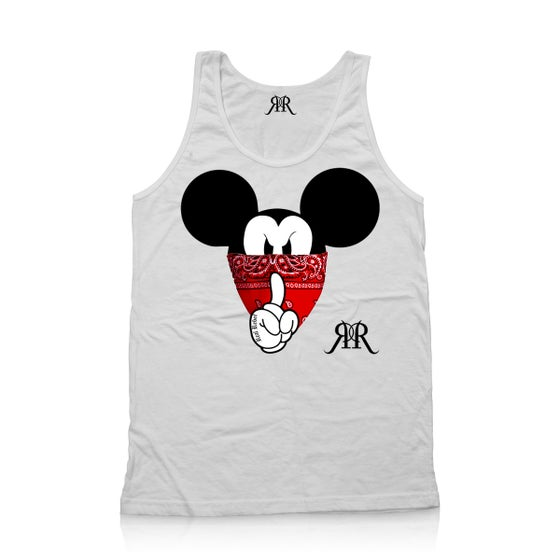 """Image of """"Quiet Like a Mouse"""" Tank Top"""