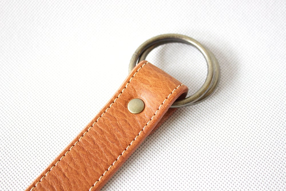 Image of Leather Brown Strap