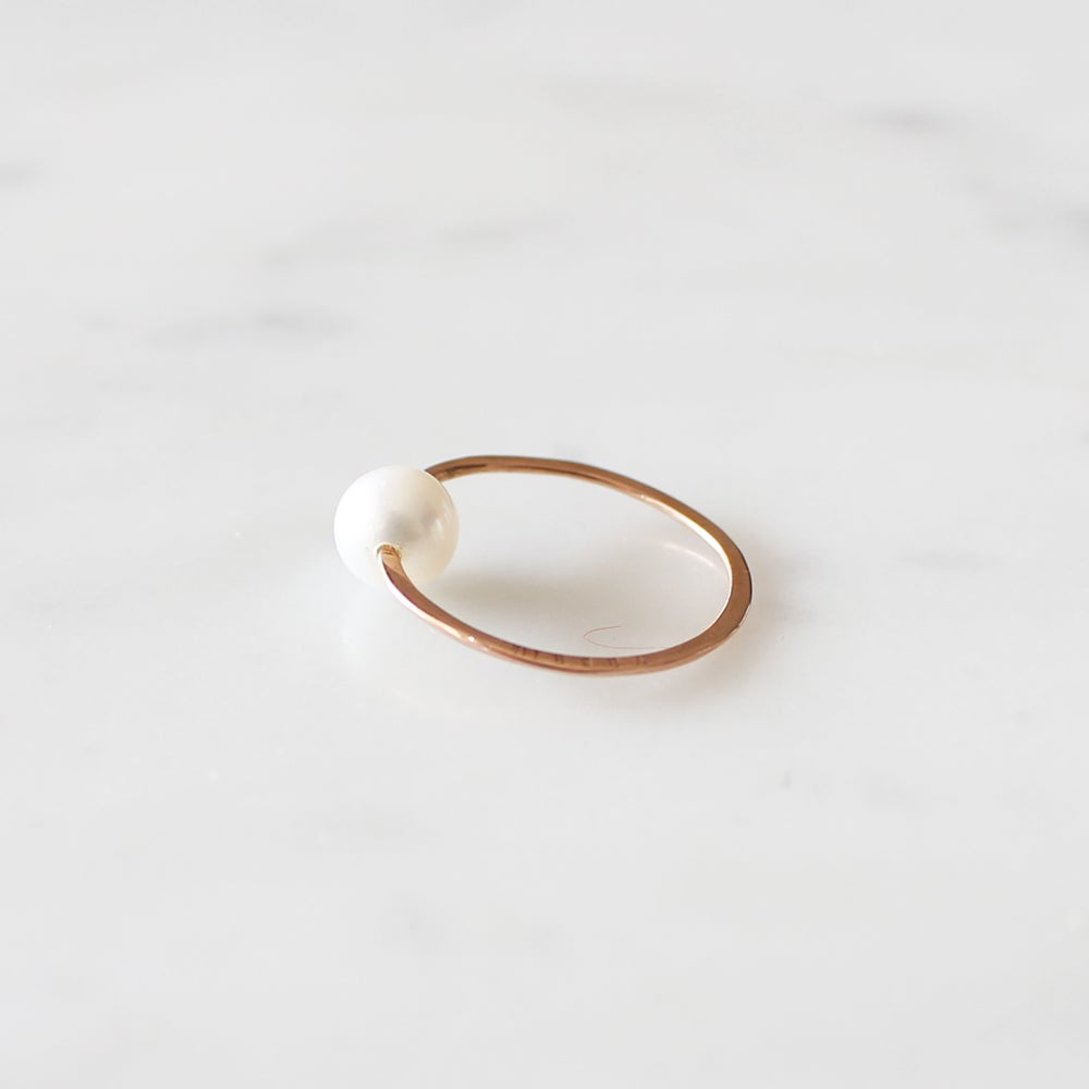 Image of Pure Pearl Ring