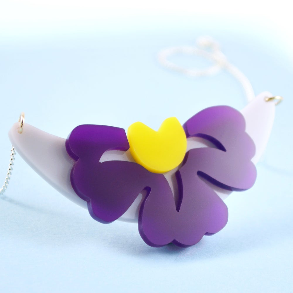 Image of Garden Flower necklace