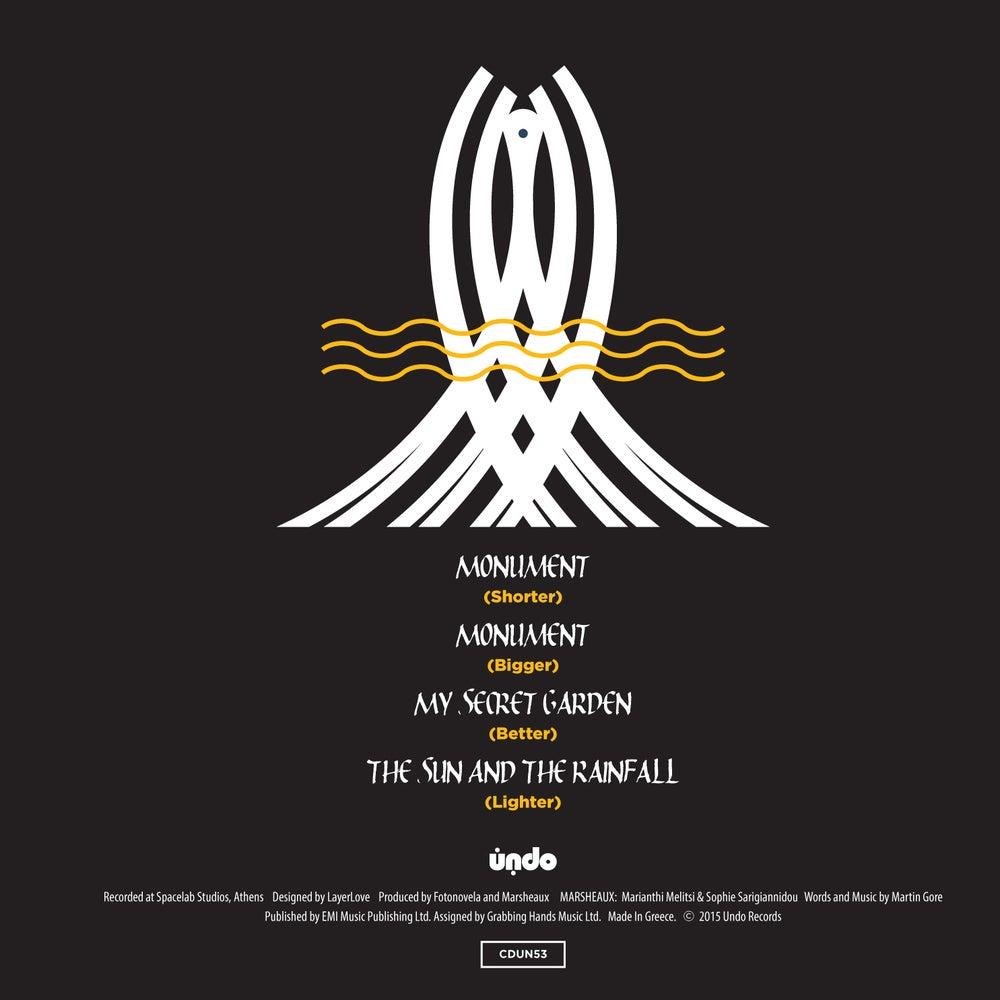 Image of CDUN53 MARSHEAUX:       Monument CD Single