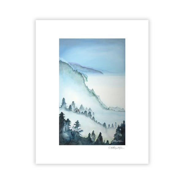 Image of Big Sur Mist, Archival Paper Print