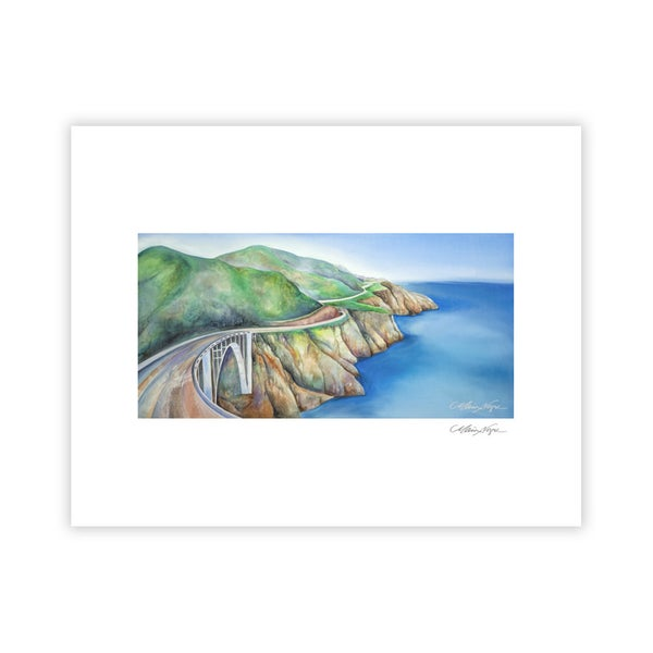Image of Bixby Bridge, Archival Paper Print