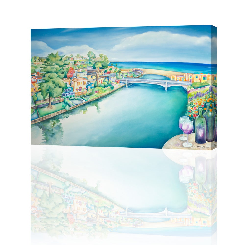 Image of 2015 Capitola Art and Wine Festival Giclee Print