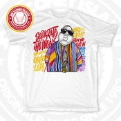 Image of The Notorious B.I.G - White t shirt