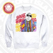 Image of The Notorious B.I.G - Grey Crew Neck