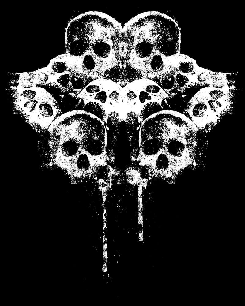 Image of Skulls Zipper Hoodie