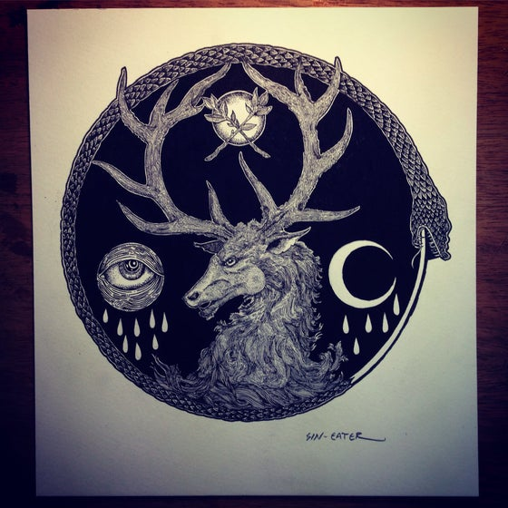 Image of The white stag