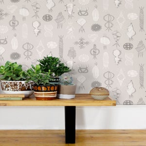 Image of Equinox Wallpaper - Stone