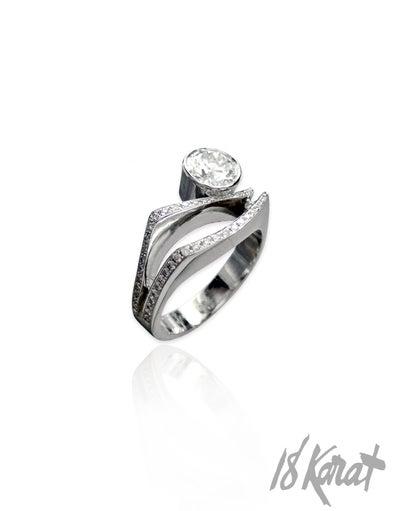 Ann's Engagement Ring - 18Karat Studio+Gallery
