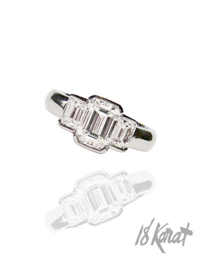 Anna's Engagement Ring - 18Karat Studio+Gallery