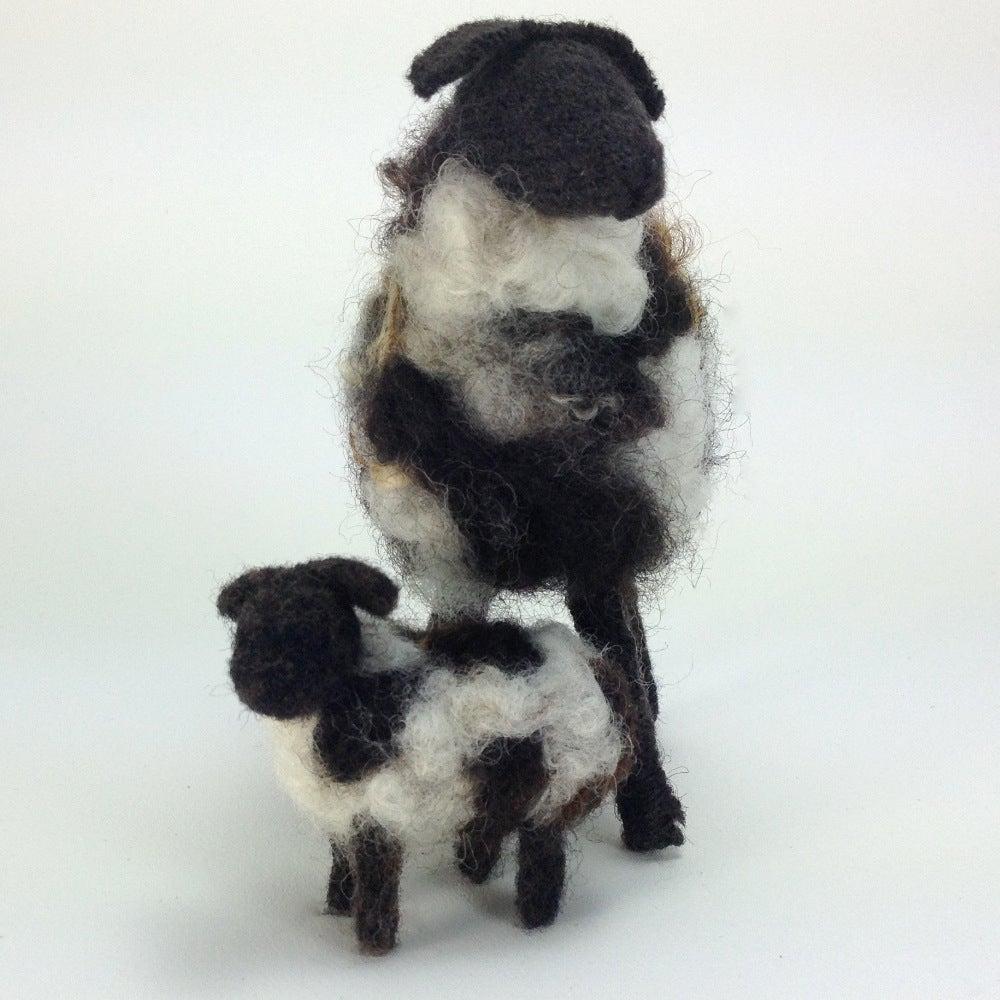 Image of Breed Specific Sheep - Jacob Ewe & Lamb - Custom Order